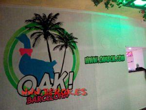 mural logo fluor oak