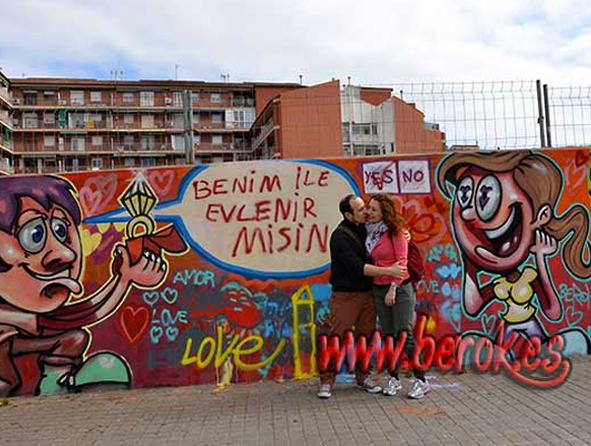 Evento Graffiti Matrimonio