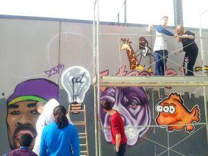 taller-graffiti-instituto-Pla-Marcell-de-Cardedeu