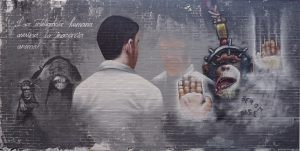 graffiti-la-inteligencia-humana-asesina-la-inocencia-animal