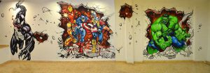 graffiti-mural-marvel