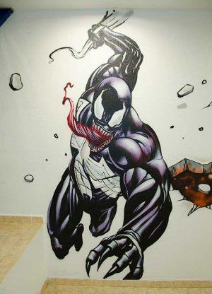 graffiti-mural-venom
