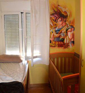 graffiti-goku-en-habitacion-dormitorio