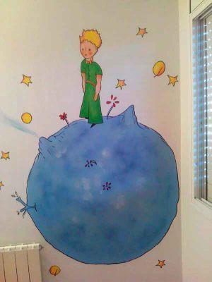 mural-infantil-el-petit-princep