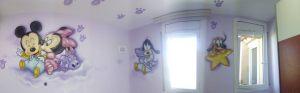 mural-infantil-pluto-goofy