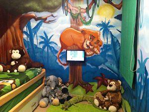 mural-infantil-rey-leon