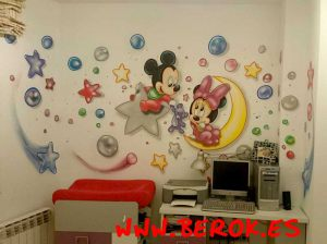 graffiti-minnie-bebe-habitacion-infantil