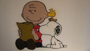 Mural-Snoopy
