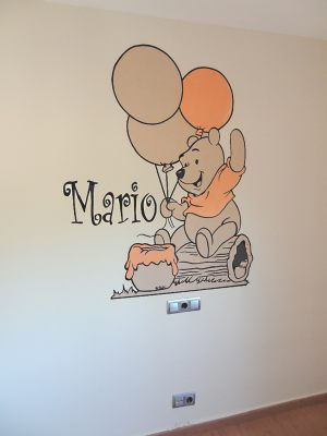 Mural-Winnie-the-Pooh