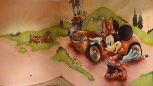 Mural-infantil-Minnie-y-Daisy