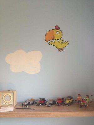 mural-infantil-pajarito