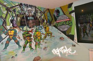 habitacion-tematica-tortugas-ninja