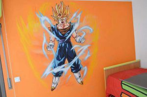 graffiti-Dragon-Ball-Vegetto-Vegeta-Goku-Fusion
