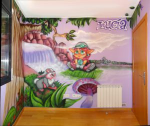 Mural-infantil-habitacion-lucia