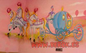 graffiti-carruaje-cenicienta-caballos