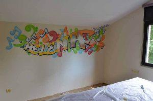 graffiti-habitacion-juvenil-helena-letras
