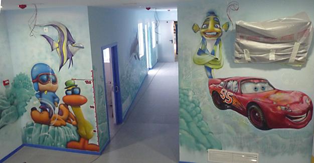 Murales Infantiles Bogota