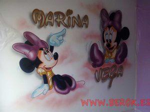 mural-infantil-minnie-marina