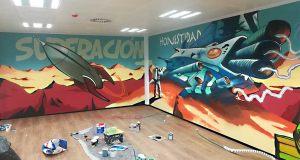 mural graffiti Seocom