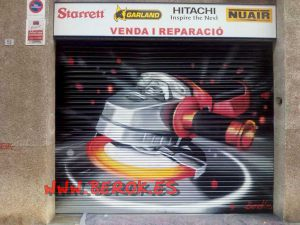 graffiti_persiana_Mollet_del_valles