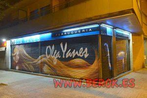 graffiti-peluqueria-Olga-Yanes