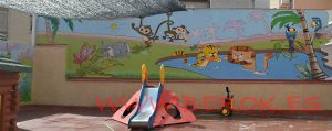 graffitis infantiles guarderia