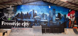 Mural-XXL-Gotham-City