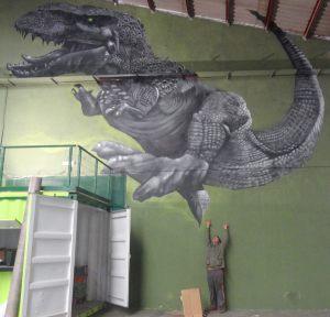 Mural XXL Tiranosaurio Rex