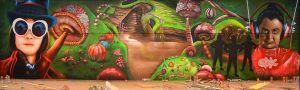 graffiti-oompa-loompa-en-parque-infantil-Imagine-World-de-Sant-Quirze-del-Valles